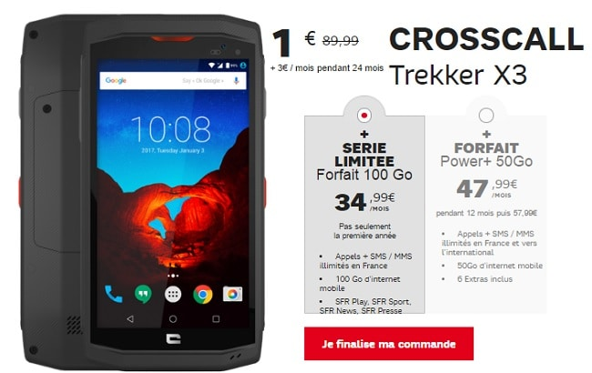 promo sfr crosscall trekker x3 htc u play 1 avec. Black Bedroom Furniture Sets. Home Design Ideas