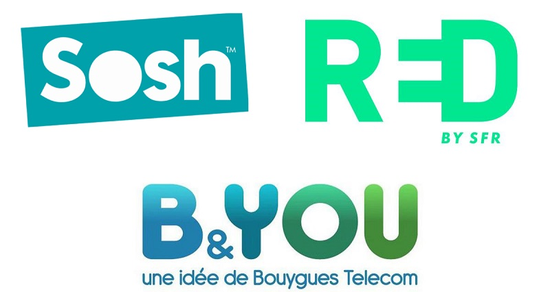 forfaits red sosh et b&you en promo