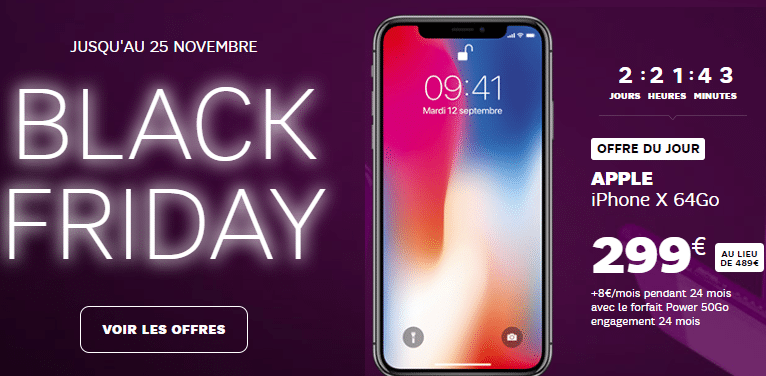 SFR : le black friday continue