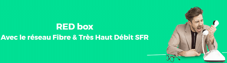 Red box fibre en promo à 22€/mois
