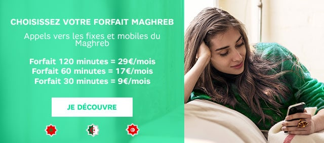 Forfait mobile maghreb : les offres red by sfr