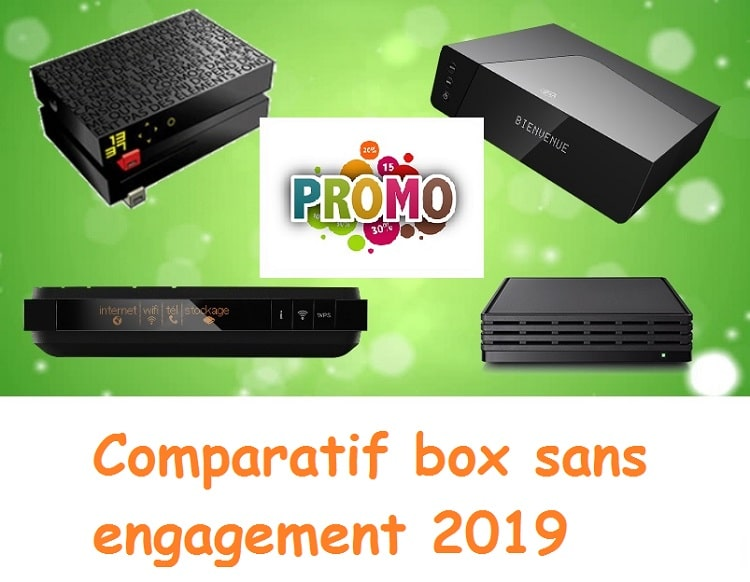 box internet sans engagement : comparatif 2019
